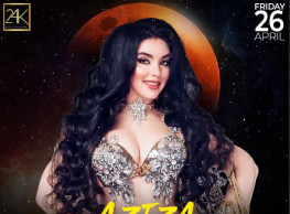 Friday Night ft. Belly Dancer ALLA AZIZA / DJ Tommy @ 24K Lounge