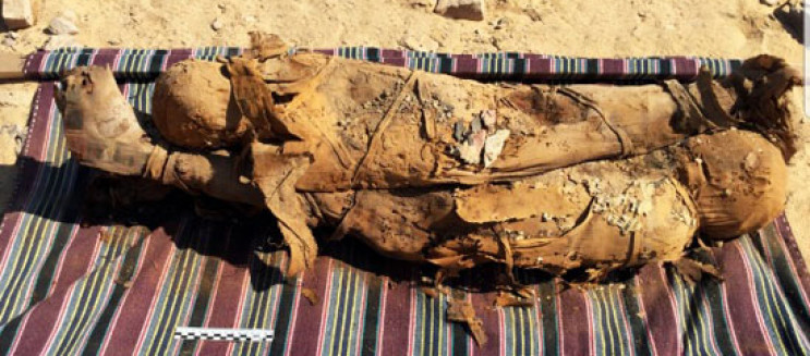 IN PICTURES: Graeco-Roman Tomb Discovered in Aswan