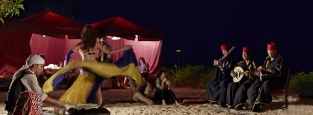 Belly Dance Night at Four Seasons Resort Sharm El Sheikh's Nafoura Lounge