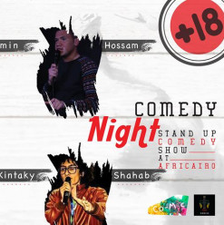 '+18' Stand-Up Comedy Show at AfriCairo