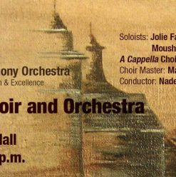 'Great Works for Choir and Orchestra' at Cairo Opera House
