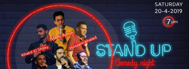 Stand-Up Comedy Night at 9 Adly Street