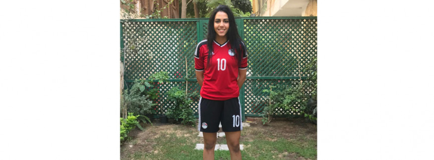 WATCH: Egypt's Sarah Essam Wins Stoke City Ladies' Top Scorer Award!