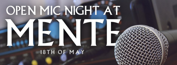 Open-Mic Night at Mente