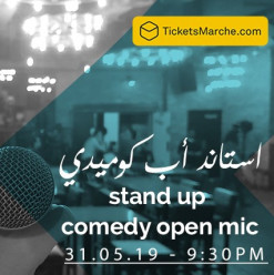 Open Mic / Stand-Up Comedy Night at Darb 1718