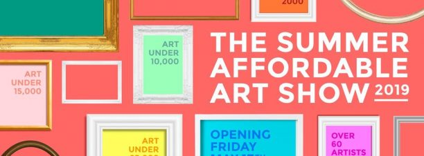 """The Summer Affordable Art Show 2019"" Exhibition at Arts Mart Gallery"