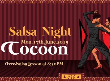 Salsa Night! ft. Cocoon @ Cairo Jazz Club 610