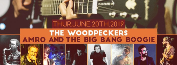 The Woodpeckers / Amro & The Big Bang Boogie @ Cairo Jazz Club
