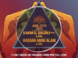 Alt Tuesday ft. DJs Karim El Ghazoly / Hassan Abou Alam @ Cairo Jazz Club
