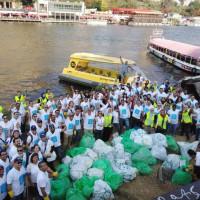 Embassy of Denmark in Egypt Organises a Series of Clean-Up Initiatives for Egypt's Biggest Water Bodies