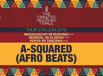 The African Table ft. DJ A-Squared @ Cairo Jazz Club 610