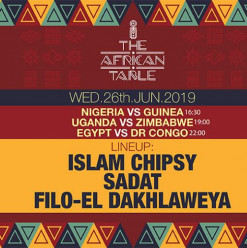 The African Table ft. DJs Islam Chipsy / Sadat / Filo-El Dakhlaweya @ Cairo Jazz Club 610