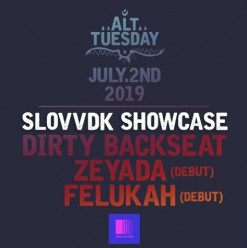 Alt Tuesday ft. Slovvdk Showcase ft. Dirty Backseat / Zeyada (Debut) / Felukah @ Cairo Jazz Club