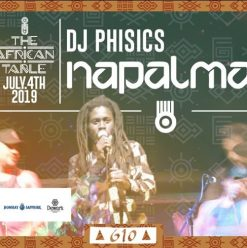 The African Table ft. Napalma / DJ Phisics @ Cairo Jazz Club 610