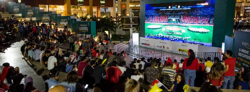 Arena: Cairo Festival City Mall Delivers Its Shoppers a Stadium-Like Experience in the Heart of ‎New Cairo