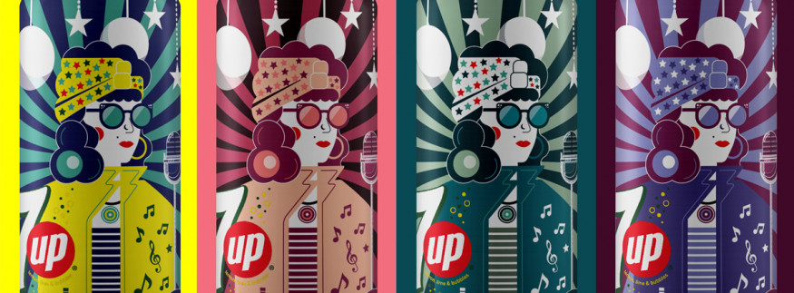 IN PICTURES: Egyptian University Students Innovatively Rebrand 7UP Cans