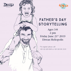 Father's Day Storytelling Session at Diwan Heliopolis