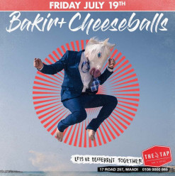DJ Bakir & Cheeseballs @ The Tap Maadi