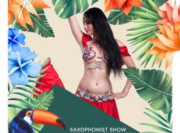 Belly Dance Show / Saxophonist Show / Resident DJ @ Gŭ Lounge