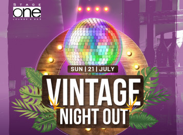 Vintage Night Out at Stage One