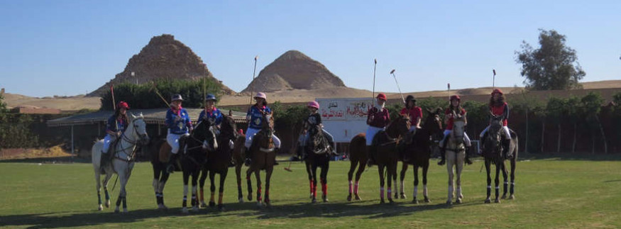 Meet Nefertiti, Egypt's Very First Professional Female Polo Team