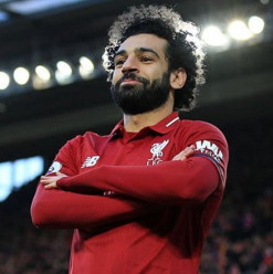 Mohamed Salah Ranks Twelfth on Hopper's Instagram Rich List 2019
