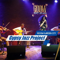 The Gypsy Jazz Project at ROOM Art Space Garden City