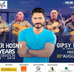 Tamer Hosny & Gipsy Kings Live Concert @ Al Masa New Alamein