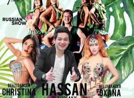 Hassan El Kholaky / Belly Dancer Oxana & Christina / Russian Show / Saxophonist Show @ Gŭ Lounge