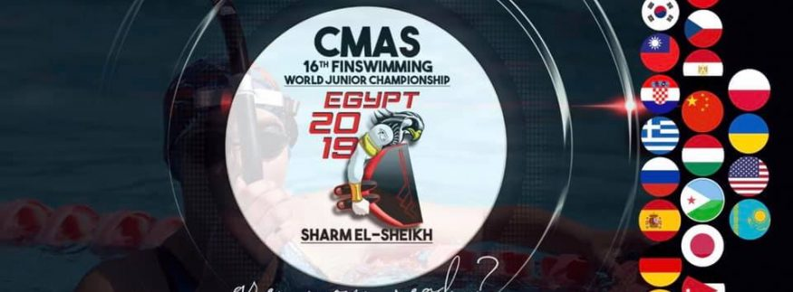 Egypt Ranks Fourth at 16th Finswimming World Junior Championship 2019 in Sharm El Sheikh ‎