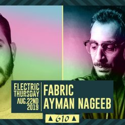 Fabric & Ayman Nageeb at Cairo Jazz Club 610