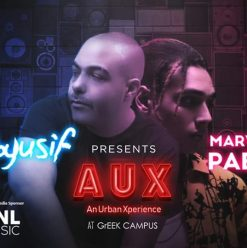 AUX Featuring Marawan Pablo and Abyusif at The Greek Campus