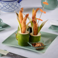 Shrimp Konafa: A Classic at InterContinental Cairo Semiramis' Birdcage