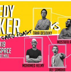 Comedy Bunker Cairo Roast at Room New Cairo