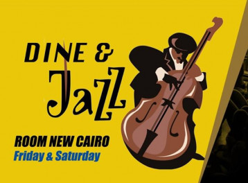 'Dine & Jazz' Night at ROOM Art Space New Cairo