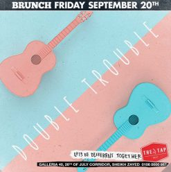 Brunch Friday ft. Double Trouble @ The Tap West
