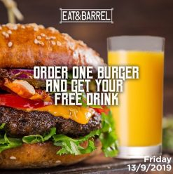 Promotional Friday @ Eat & Barrel