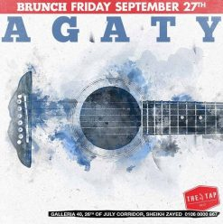 Friday Brunch ft. Agaty @ The Tap West