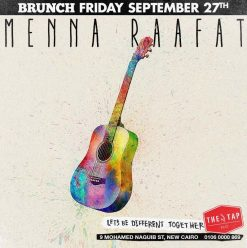 Friday Brunch ft. Menna Raafat @ The Tap East