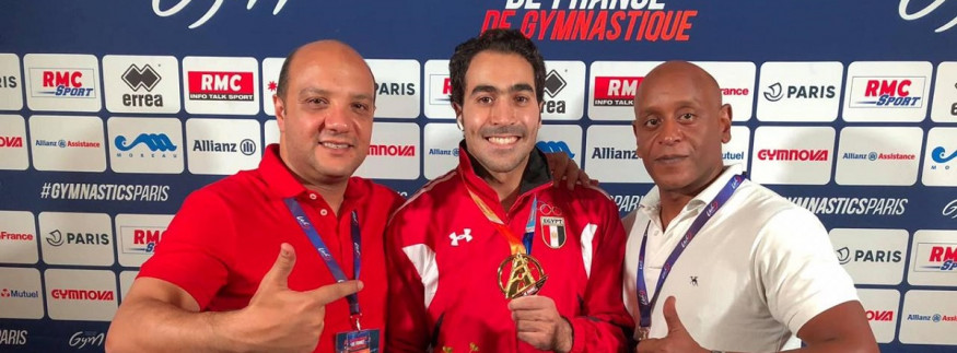 Egyptian Gymnast, Ali Zahran, Brings Gold Medal Home from Paris World Challenge Cup series