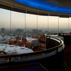 Grand Nile Tower Hotel's Revolving Restaurant: A Fine-Dining Experience That Comes with a Spectacular View