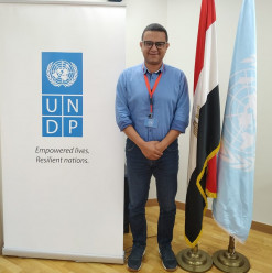 UNDP Partners with an Egyptian Adventurer for a World Record Attempt