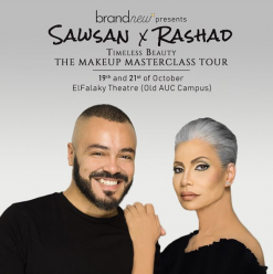SAWSAN X RASHAD Timeless Beauty Makeup Masterclass Tour in Cairo @ The Falaky Theater / AUC Old Campus – Tahrir