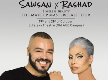 SAWSAN X RASHAD Timeless Beauty Makeup Masterclass Tour in Cairo @ The Falaky Theater / AUC Old Campus - Tahrir