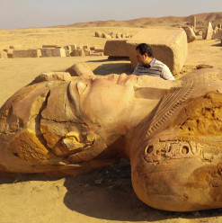 """Lost Egyptian City"" of Tanis to Be Transformed into Open-Air Museum ‎"