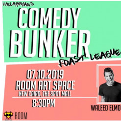 COMEDY BUNKER Roast League (Stand-up Comedy Night) @ ROOM Art Space New Cairo
