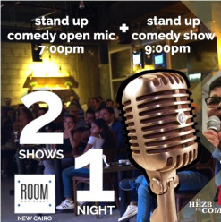 Stand Up Comedy Show @ Room Art Space New Cairo