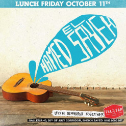 Friday Brunch ft. Hamed El Sayeh @ The Tap West