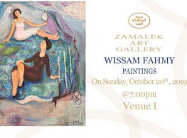 Wissam Fahmy's Paintings Exhibition @ Zamalek Art Gallery