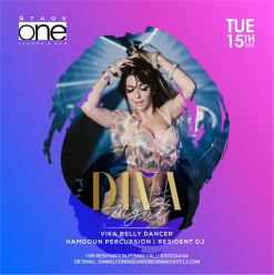 Diva's Night ft. Belly Dancer Vika / Percussionist Hamdoun @ Stage One Bar & Lounge